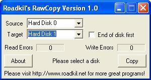 Roadkil's RawCopy